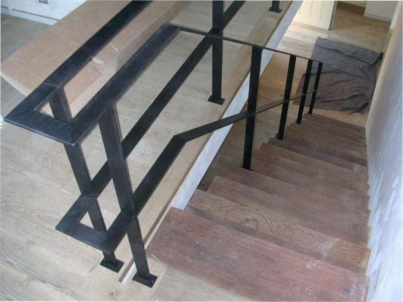 Smeedijzeren leuningen in metaal of inox bouwsmederij noël