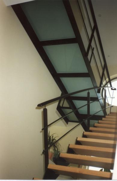 Trappen in metaal of inox bouwsmederij no l - Metalen trap ...