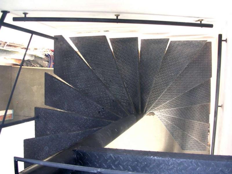 Hedendaags Metalen trap/trappen | Bouwsmederij Noel Bvba LL-38