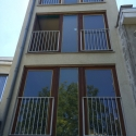 buisleuning met verticale verdeling