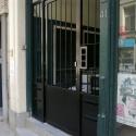 Beveiligingsdeur met ingewerkte brievenbus.