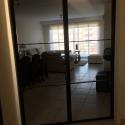 dubbele deur met 3 horizontale ruiten/deur