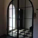 dubbel deur met boog