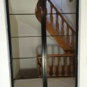 dubbele deur met doorlopende greep