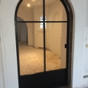enkele deur met boog