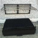 HAARD-BBQ MET LOSSE MUURGRILL OPHANGING