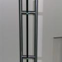 Dubbele RVS greep voor glazen deur.