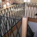 Ellipsvormen in deze kunstige balustrade.