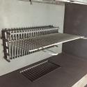 muurkorf -inox gril