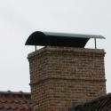 Eenvoudige ronde dakkap.