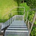 Bovenzicht trap met STACO-treden.